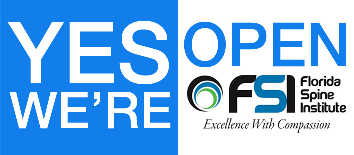 Florida Spine Institute is open during COVID-19
